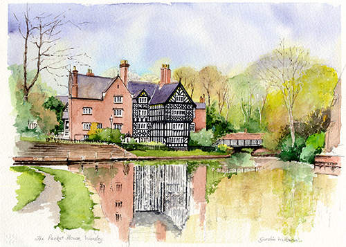 The Packet House, Worsley